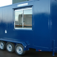 Towable Toilet & canteen 01