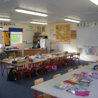Primary school interior